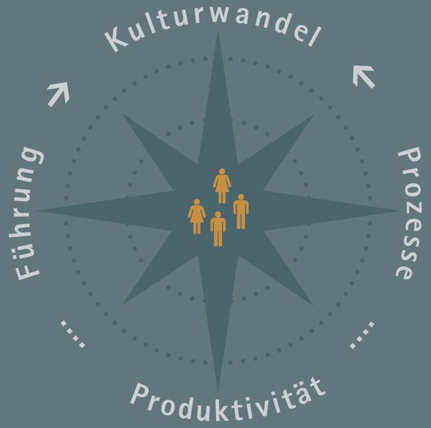 Kulturwandel, Prozesse, Produktivität, Führung